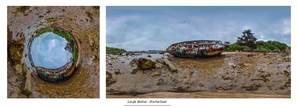 Lie de Brehat - Fischerboot